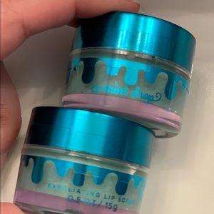 Bath & Body Works Mint Drop Lip Scrub x2
